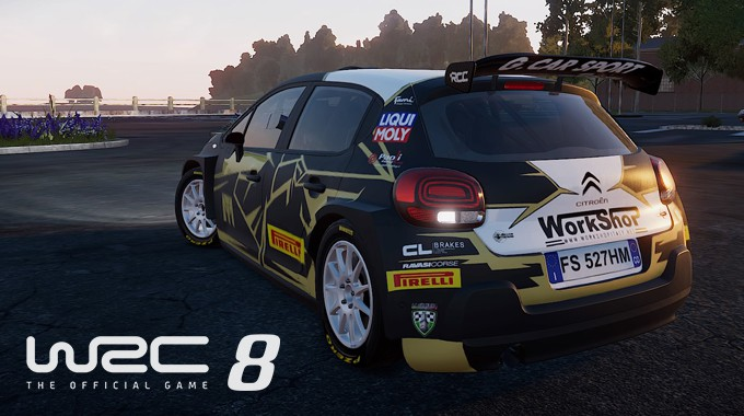 Work Shop Nel Videogame WRC8